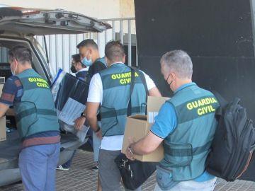 Foto de archivo de una operación de la Guardia Civil