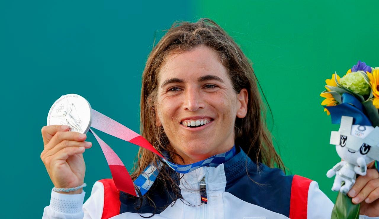 Maialen Chorraut, medalla de plata en la prueba de piragüismo de slalom