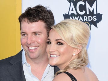 Jamie Lynn Spears y su marido, Jamie Watson