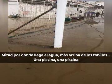 LLuvias caídas en Puerto Lumbreras, Murcia