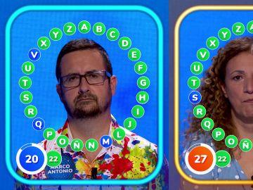 ¡Tensión en 'El Rosco'! Sofía y Marco Antonio empatados a falta de 20 segundos