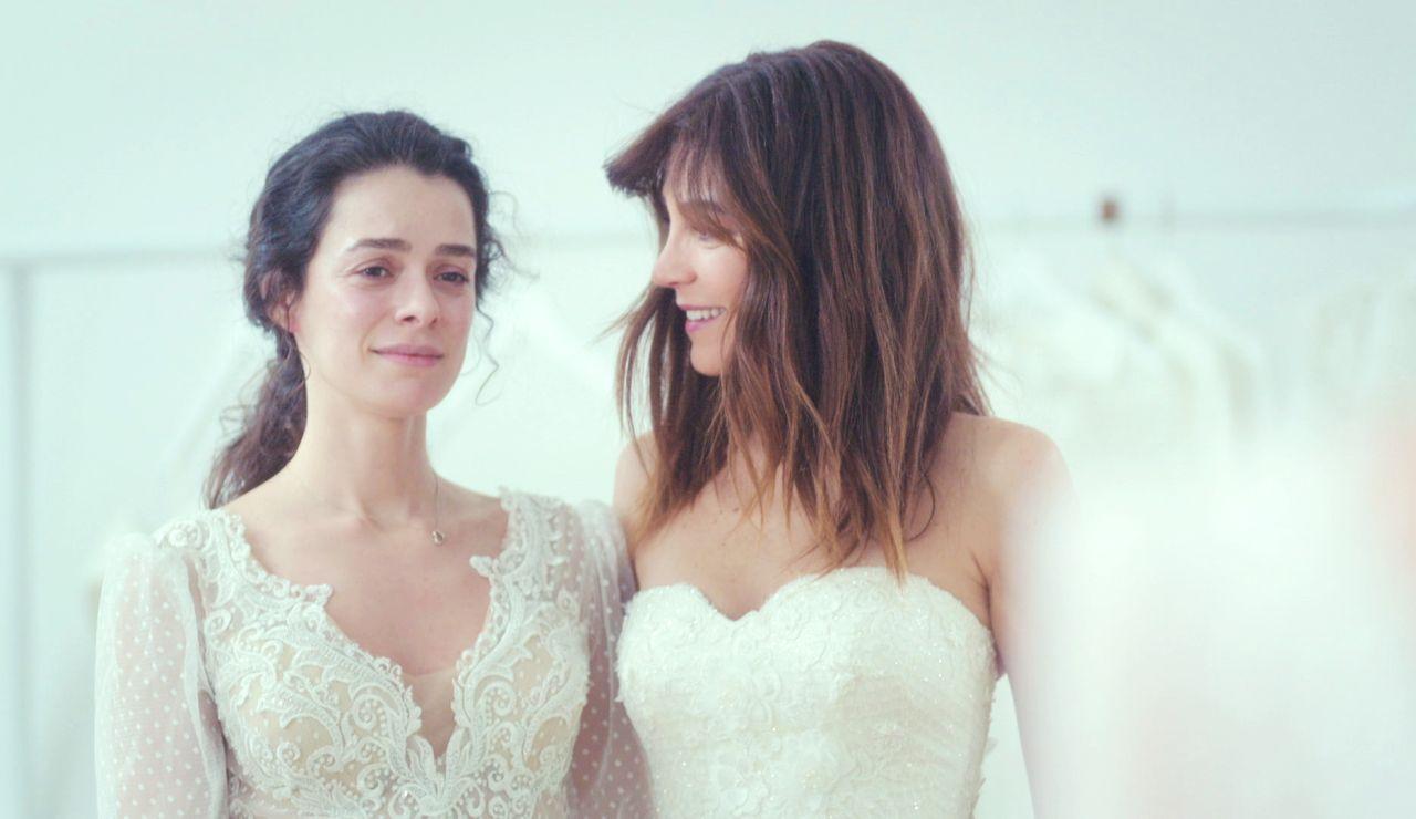 Avance de 'Mujer': Bahar y Ceyda desvelan cómo serán sus vestidos para la boda