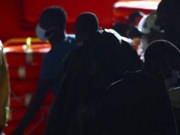 Rescatan una patera con 54 migrantes en Gran Canaria