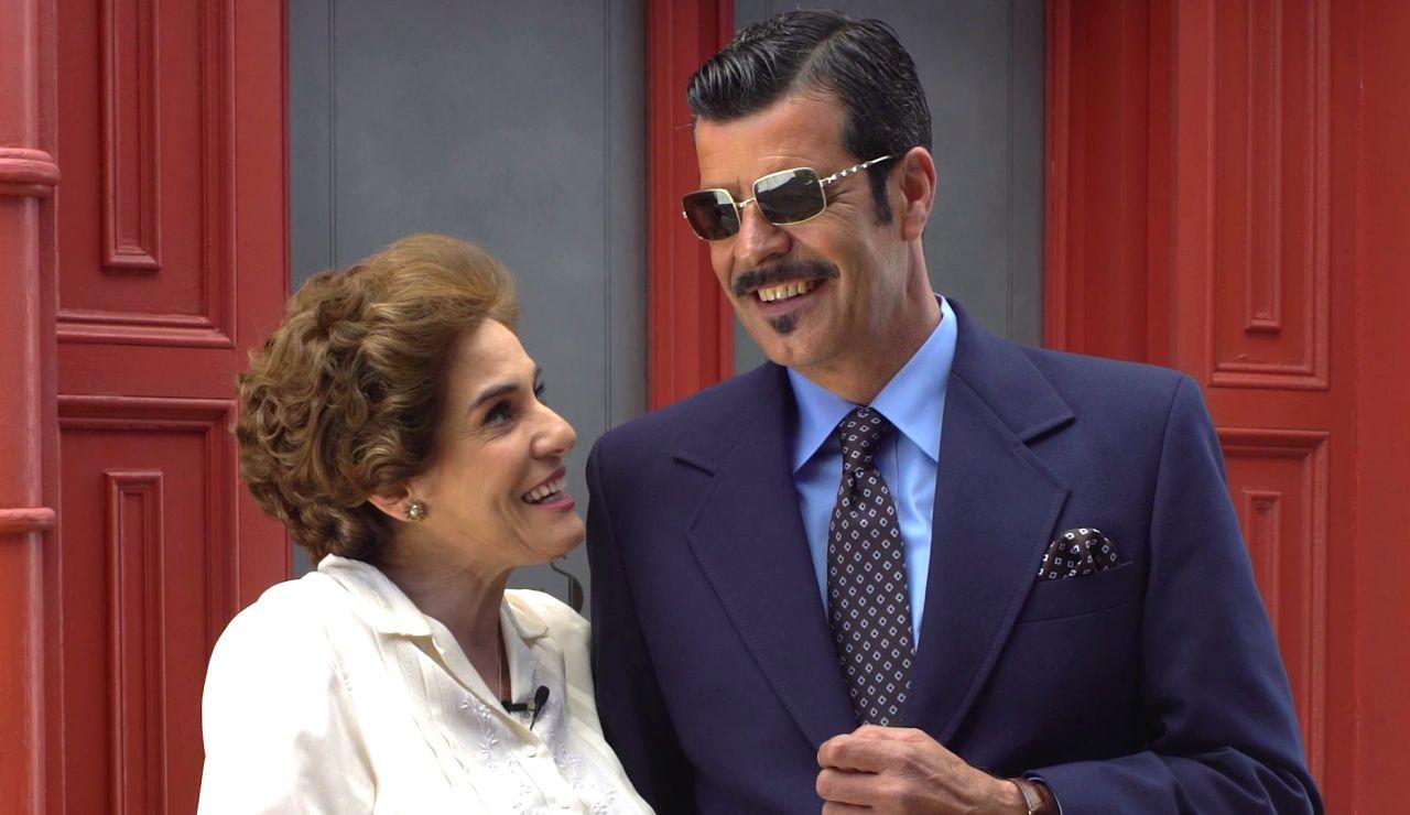 """Anabel Alonso y Andoni Ferreño, una amistad que va más allá de la pantalla: """"Es un lujo compartir plató con amigos"""""""