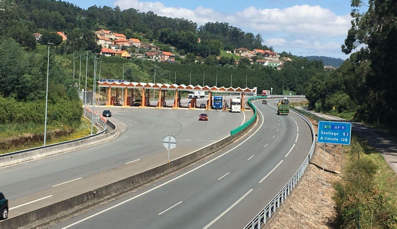 Peaje de la AP-9 en Galicia