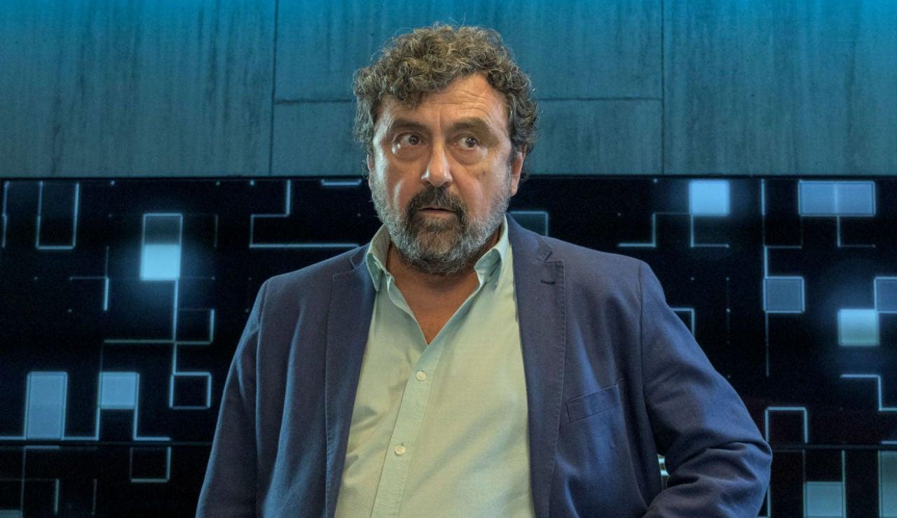 Paco Tous, ganador del Premio Mejor Actor por 'Los Hombres de Paco' en el Festival de cine y televisión de León