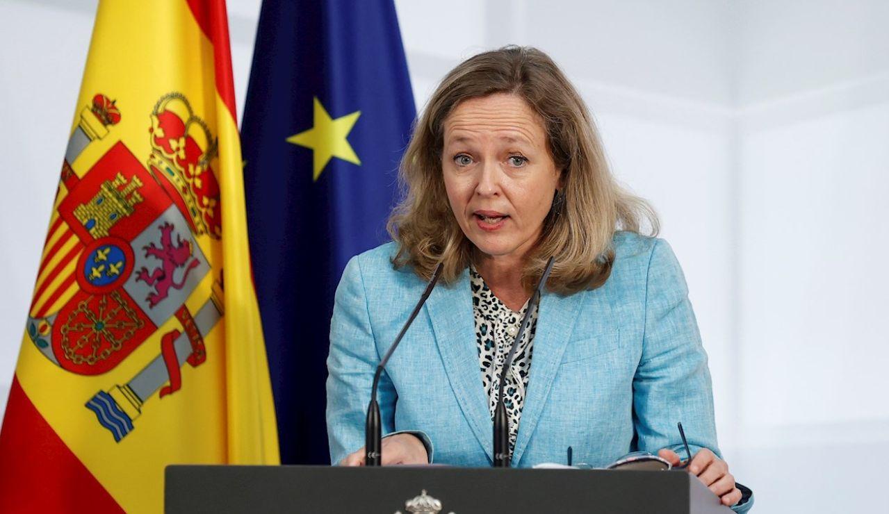 La vicepresidenta primera, Nadia Calviño
