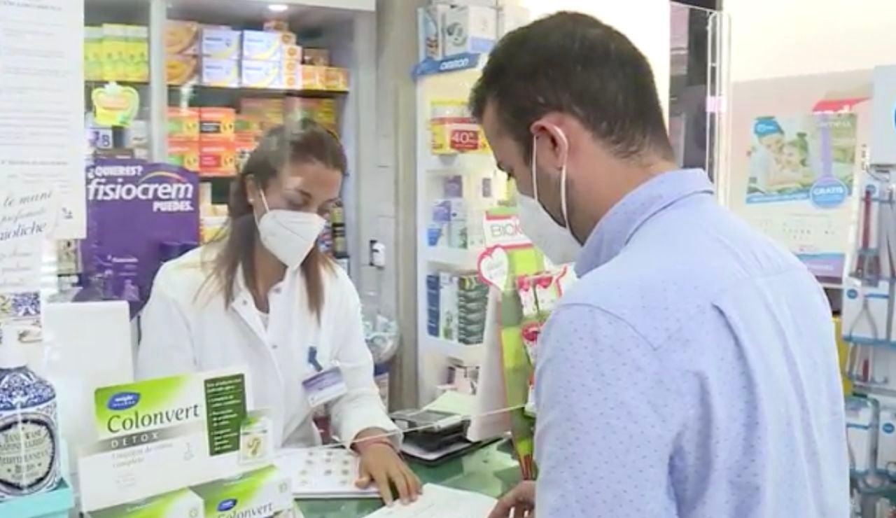 Cómo usar los test de antígenos de las farmacias para detectar el coronavirus