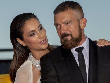 Paloma Cuevas y Antonio Banderas en Starlite