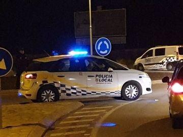 Un coche de la Policía Local de Calvià