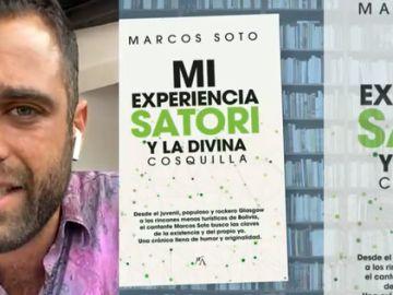 """El hijo de José Manuel Soto presenta su libro 'Mi experiencia Satori': """"Mi padre no medita, pero está contento"""""""