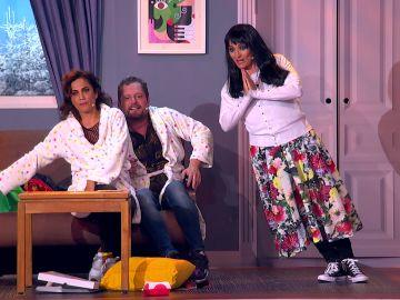 """Silvia Abril pone todo patas arriba: """"Hay que dejarlo como los cholos de loro"""""""