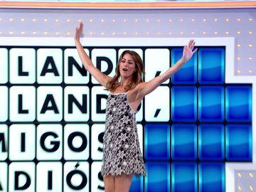 Laura Moure lo da todo bailando una de sus canciones favoritas