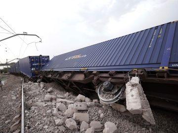 Descarrila tren en Córdoba