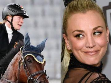 La actriz Kaley Cuoco quiere comprar a Saint Boy, el caballo maltratado en los Juegos Olímpicos