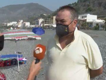 Un guardia civil que estaba de vacaciones, entre los bañistas que ayudaron a detener a 2 traficantes en una playa de Granada