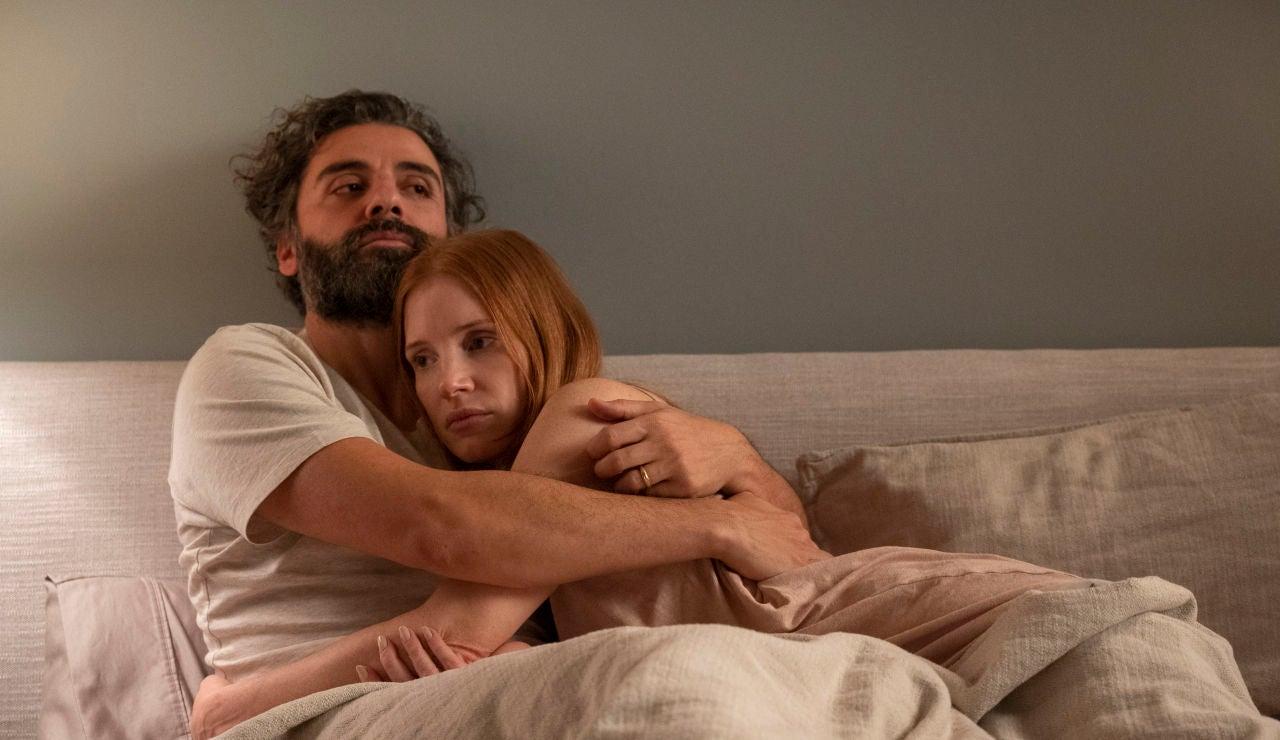 Oscar Isaac y Jessica Chastain en 'Secretos de matrimonio'