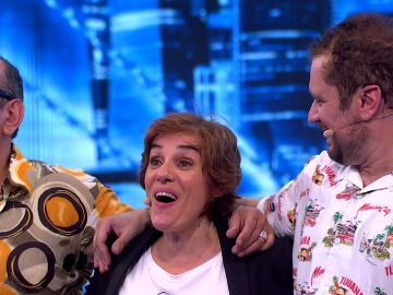 Anabel Alonso ganadora de 'Me Resbala', con una curiosa condición