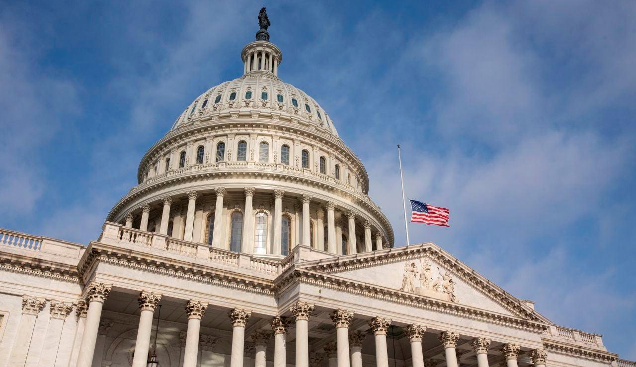 El Capitolio en Washington, Estados Unidos