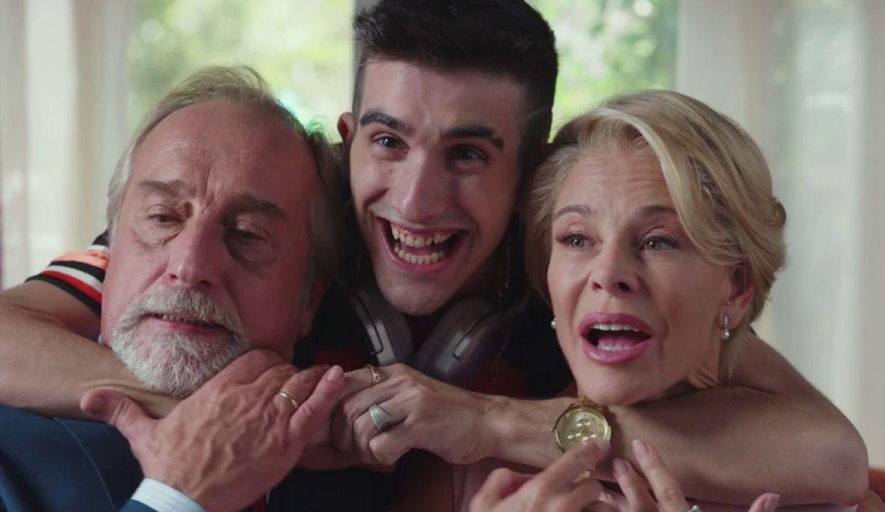Gonzalo de Castro y Belén Rueda en 'La familia perfecta'