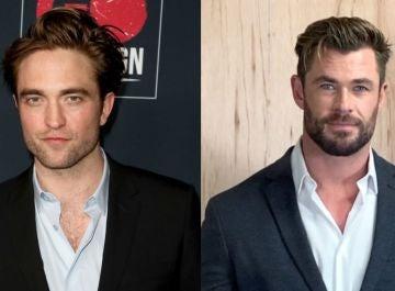 Robert Pattinson y Chris Hemsworth