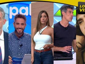 Antena 3 logra lo más visto con Antena 3 Noticias, 'Pasapalabra', Antena 3 Deportes, 'La ruleta de la suerte' y 'Tierra Amarga'