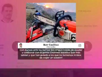 """Iker Casillas colabora como voluntario para extinguir los incendios de Navalacruz: """"Sin miedo a ayudar"""""""