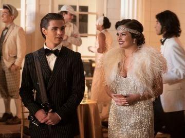 Tanner Buchanan y Addison Rae en 'Alguien como él'