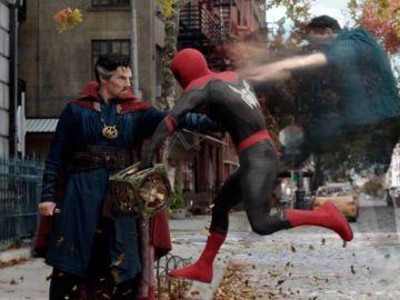 Doctor Strange y SpiderMan en 'Spiderman: Sin camino a casa'