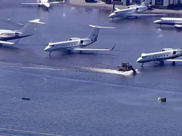 El huracán Ida provoca el caos en Nueva York e inunda calles, el metro y el aeropuerto