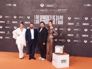 Paco Tous, Pepón Nieto, Neus Sanz y Amaia Sagasti