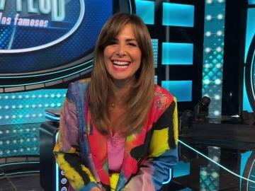 Nuria Roca confiesa las armas de los 'Cómicos' y 'Deportistas' para la gran batalla en 'Family Feud'