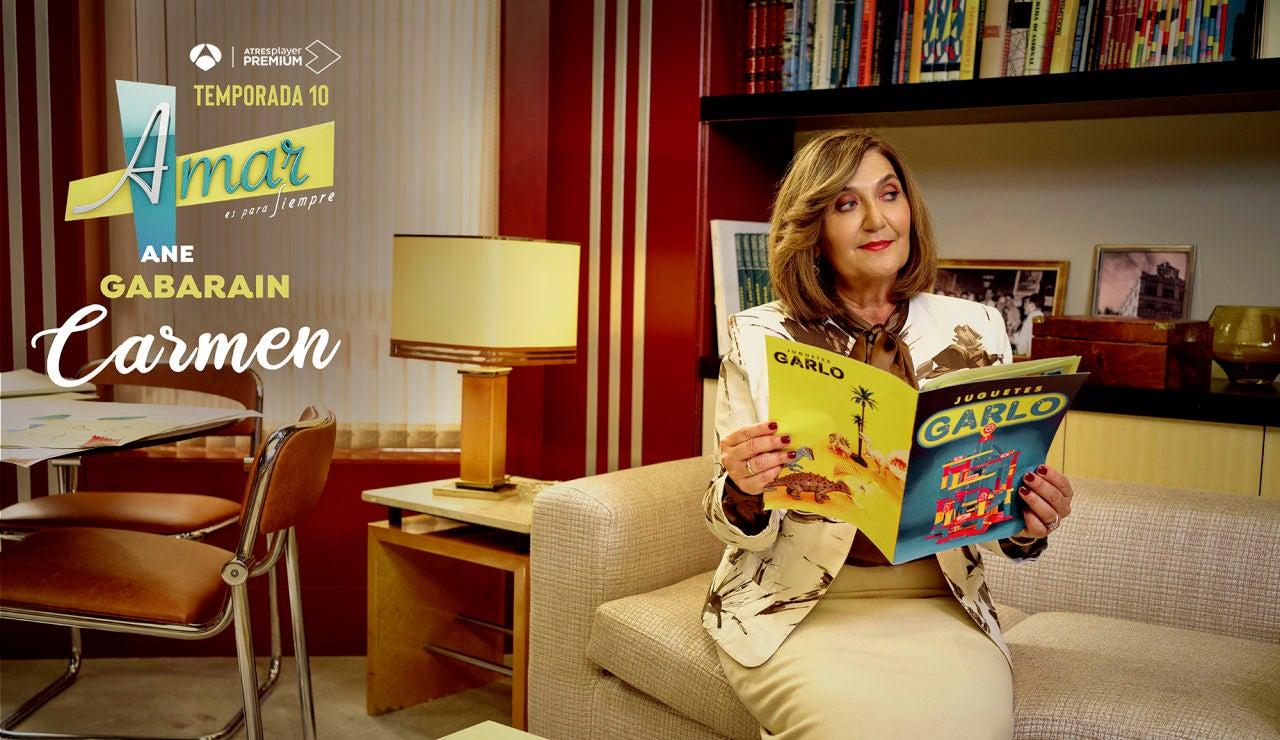 Ane Gabarain es Carmen Corcuera de Lucas