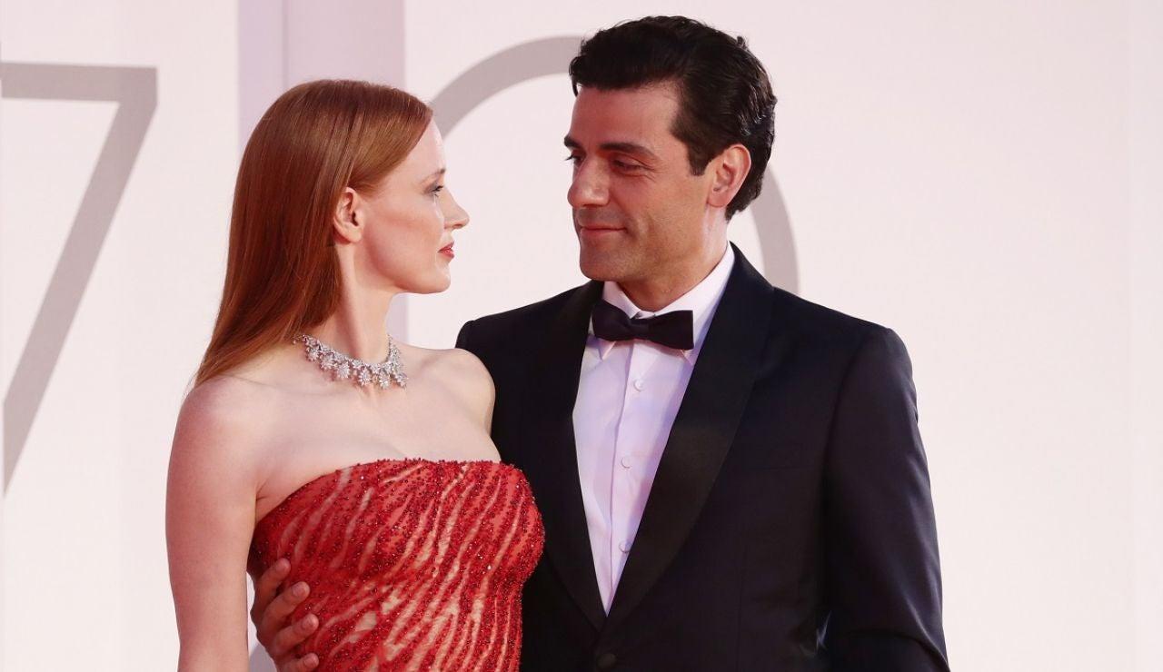 Jessica Chastain y Oscar Isaac en el Festival de Venecia