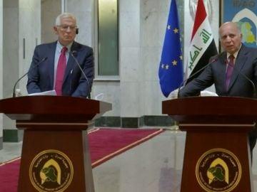 Josep Borrell en Irak