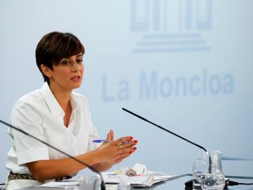 Isabel Rodríguez, ministra de Política Territorial y portavoz del Gobierno