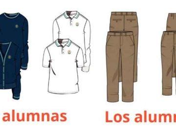 """Un colegio de Palma elimina el uniforme femenino """"porque las niñas llevan la falda muy corta"""""""