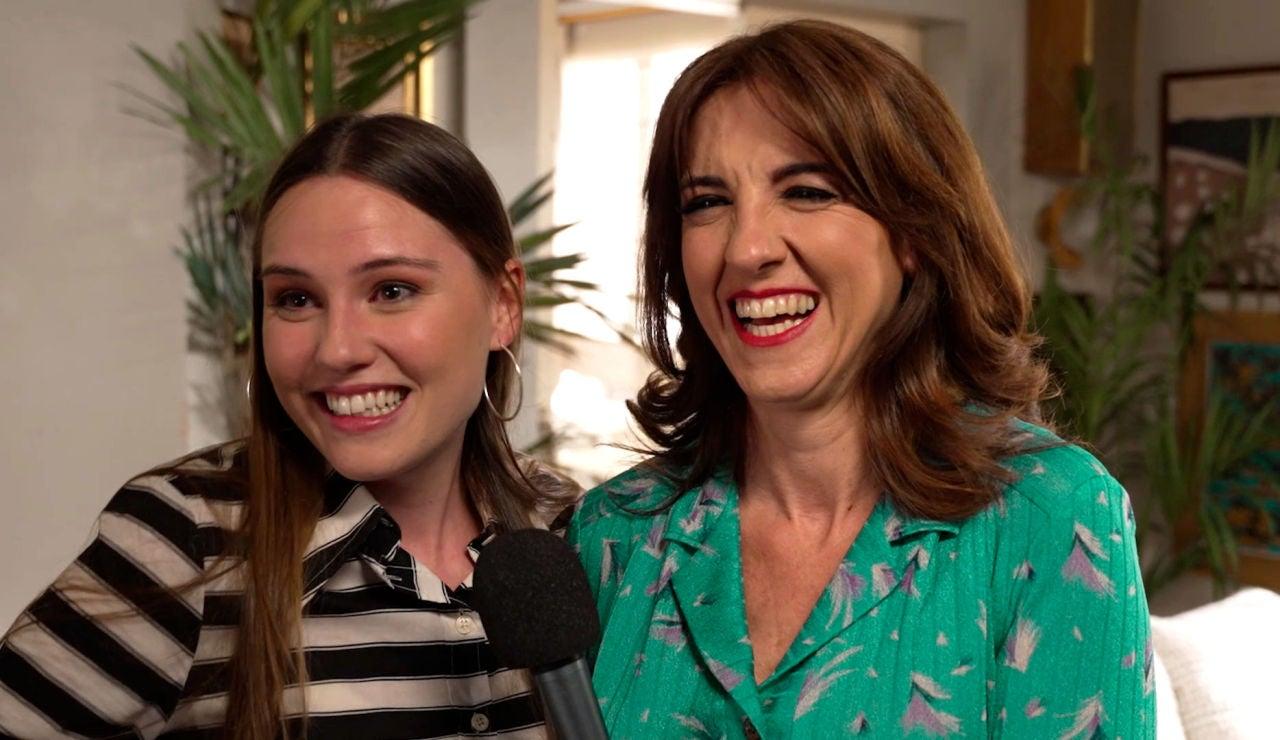 """Isabel Moreno y Llum Barrera se despiden de la novena temporada con un deseo: """"Larga vida a 'Amar'"""""""