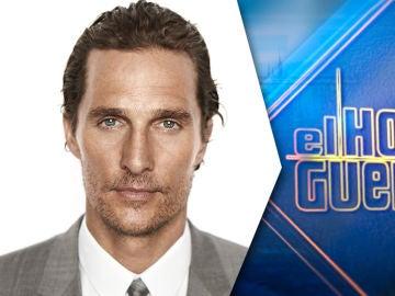 El jueves, el actor Matthew McConaughey presentará en 'El Hormiguero 3.0' su nuevo libro