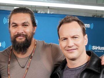 Jason Momoa y Patrick Wilson, actores de 'Aquaman'