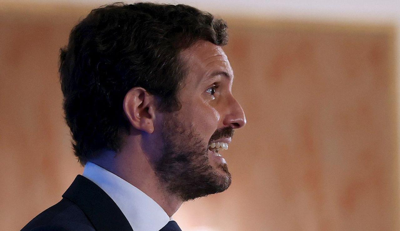 """Pablo Casado anuncia que el PP registrará una medida parlamentaria """"para abaratar un 20% el precio de la luz"""""""