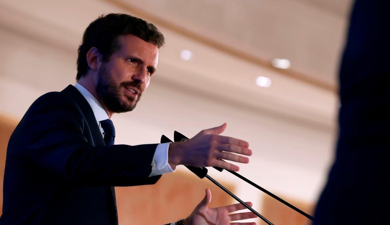 Pablo Casado exige una reforma del CGPJ antes de renovarlo porque no se fía de Pedro Sánchez