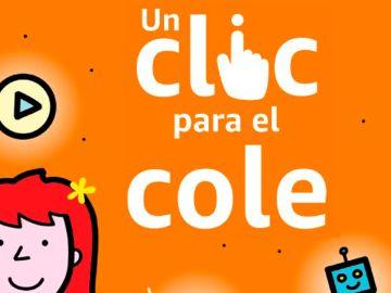 Amazon apuesta un año más por su iniciativa 'Un clic para el cole' para ayudar a los centros educativos españoles