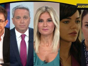 Antena 3 arranca el curso como la TV más vista con los programas, informativos y series líderes