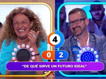 """""""¿De qué sirve un futuro ideal?"""" La hilarante respuesta de Marco Antonio en 'La Pista'"""