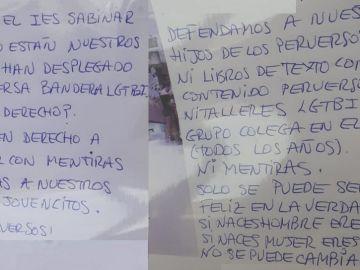 Ataques al IES Sabinar en Roquetas de Mar por exhibir la bandera LGTBI