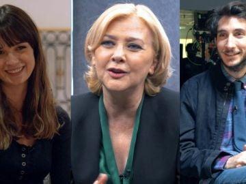Dolores, Ika y Rober, tres personajes tan diferentes que revolucionarán 'Los hombres de Paco'