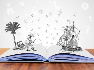 Piratas. Barco pirata