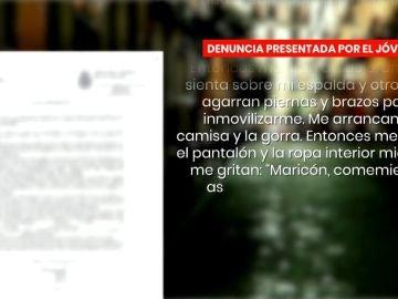 Denuncia de la supuesta agresión homófoba en Madrid.