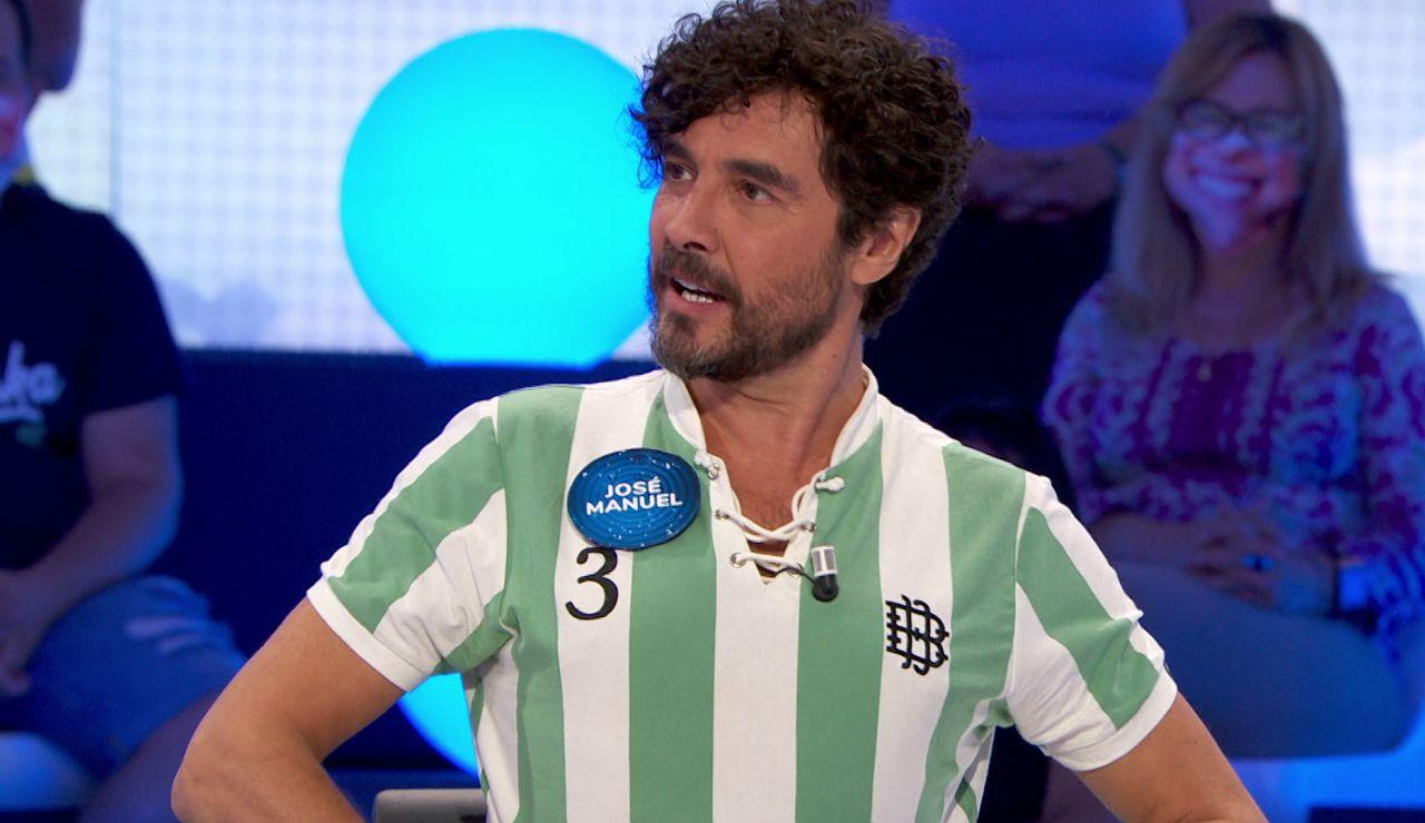 """José Manuel Seda provoca a Roberto Leal con su 'outfit' bético: """"¿No te gusta?"""""""
